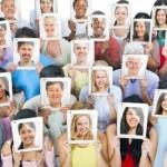 Multi-ethnic Casual People